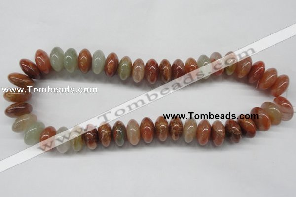 CDQ32 15.5 inches 10*18mm rondelle natural red quartz beads wholesale