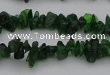 CDQ76 15.5 inches 4*6mm - 5*8mm diopside chips gemstone beads