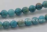 CDS02 16 inches 8mm round dyed serpentine jasper beads wholesale
