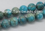 CDS03 16 inches 10mm round dyed serpentine jasper beads wholesale