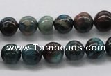 CDS07 16 inches 10mm round dyed serpentine jasper beads wholesale