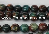 CDS186 15.5 inches 8mm round dyed serpentine jasper beads