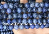 CDU369 15.5 inches 10mm round dumortierite gemstone beads