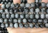 CEE543 15.5 inches 10mm round eagle eye jasper gemstone beads