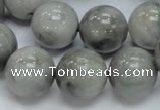 CEE61 15.5 inches 14mm round eagle eye jasper beads wholesale