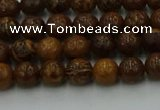 CEJ300 15.5 inches 4mm round elephant skin jasper beads wholesale