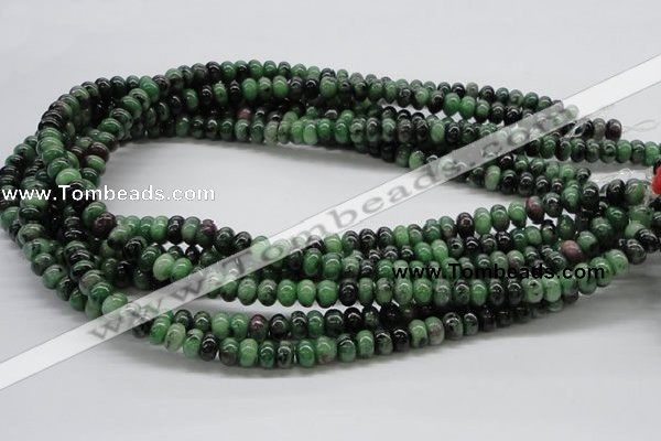 CEP06 15.5 inches 5*8mm rondelle epidote gemstone beads Wholesale
