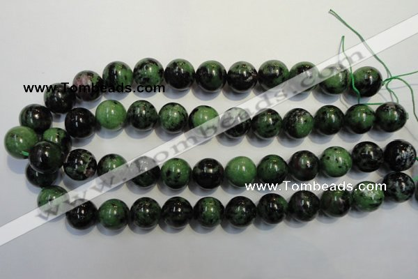 CEP102 15.5 inches 16mm round epidote gemstone beads