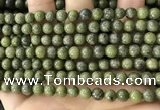 CEP201 15.5 inches 6mm round epidote gemstone beads wholesale