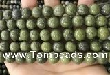 CEP204 15.5 inches 12mm round epidote gemstone beads wholesale