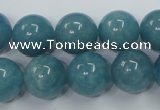 CEQ06 15.5 inches 14mm round blue sponge quartz beads wholesale