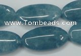 CEQ137 15.5 inches 15*30mm marquise blue sponge quartz beads