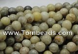 CFA02 15.5 inches 6mm round chrysanthemum agate gemstone beads