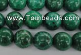 CFA75 15.5 inches 12mm round green chrysanthemum agate beads