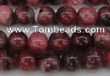 CFE03 15.5 inches 6mm round natural Brazilian fowlerite beads
