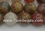 CFJ203 15.5 inches 10mm round fancy jasper beads wholesale