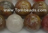 CFJ205 15.5 inches 14mm round fancy jasper beads wholesale