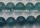 CFL1005 15.5 inches 14mm round blue fluorite beads wholesale