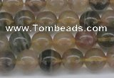 CFL1103 15.5 inches 10mm round yellow fluorite gemstone beads