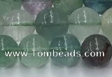 CFL1136 15.5 inches 8mm round fluorite beads wholesale
