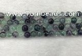 CFL1452 15.5 inches 8mm round fluorite beads wholesale
