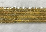 CFL1510 15.5 inches 10mm round yellow fluorite gemstone beads