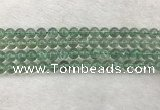CFL1523 15.5 inches 8mm round green fluorite gemstone beads