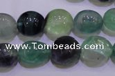 CFL722 15.5 inches 13*16mm nuggets natural fluorite beads wholesale