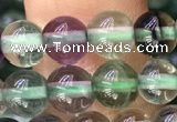 CFL919 15.5 inches 6mm round fluorite gemstone beads
