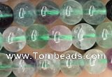 CFL924 15.5 inches 6mm round fluorite beads wholesale