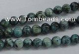CFS101 15.5 inches 6mm round blue feldspar gemstone beads