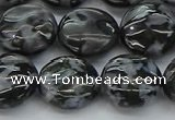 CFS313 15.5 inches 15mm flat round feldspar gemstone beads