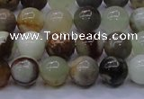 CFW11 15.5 inches 6mm round flower jade beads wholesale