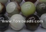 CFW19 15.5 inches 20mm round flower jade beads wholesale