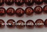 CGA602 15.5 inches 8mm A grade round natural orange garnet beads