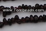 CGA652 15.5 inches 4*6mm nuggets red garnet gemstone beads