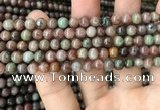 CGA683 15.5 inches 4mm round kashgar garnet beads wholesale