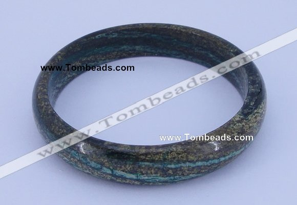 CGB212 Inner diameter 62mm fashion dyed long spar stone bangle