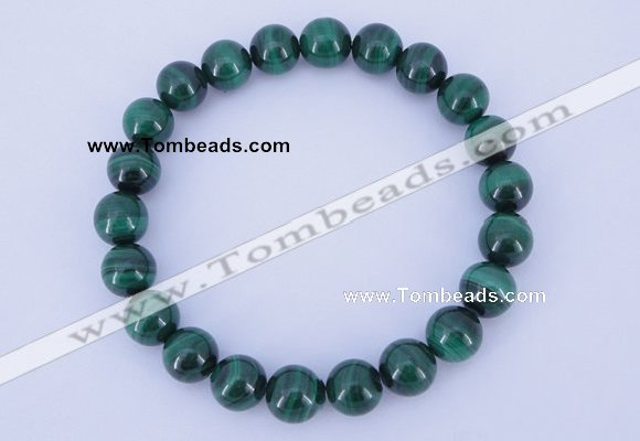 CGB220 2pcs 7.5 inches 14mm natural malachite gemstone bracelets