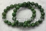 CGB2618 7.5 inches 10mm round diopside quartz beaded bracelets