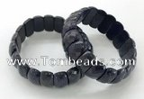 CGB3305 7.5 inches 10*20mm faceted oval lapis lazuli bracelets