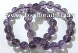 CGB4009 7.5 inches 11mm round ametrine beaded bracelets