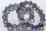 CGB4019 7.5 inches 12mm faceted round ametrine beaded bracelets