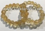 CGB4035 7.5 inches 10*14mm calabash citrine beaded bracelets wholesale