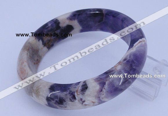 CGB479 Inner diameter 60mm fashion dogtooth amethyst bangle