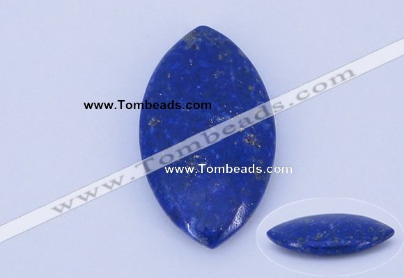 CGC48 19*34mm marquise natural lapis lazuli gemstone cabochons