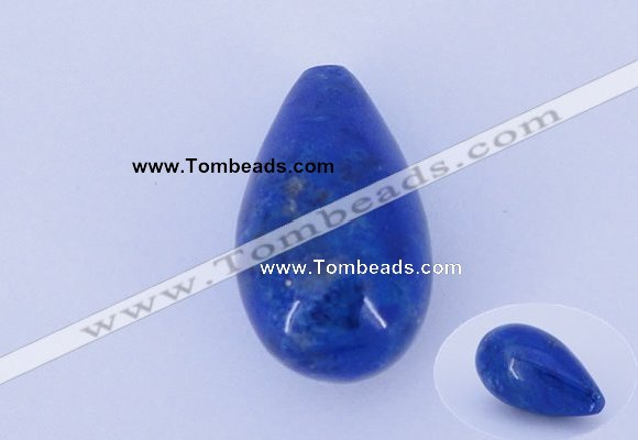 CGC54 11*19mm teardrop natural lapis lazuli gemstone cabochons
