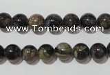 CGE103 15.5 inches 10mm round glaucophane gemstone beads