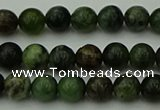 CGJ400 15.5 inches 4mm round green jade beads wholesale