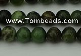 CGJ401 15.5 inches 6mm round green jade beads wholesale